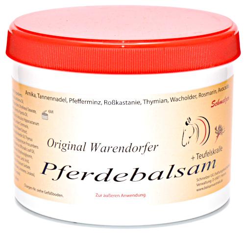 Original Warendorfer Pferdebalsam  + Teufelskralle 500ml
